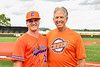 Cortland Crush Kevin Rosengren (38) and his Dad at Gutchess Lumber Sports Complex in Cortland, New York on Saturday, June 19, 2021.
