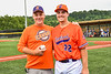 Cortland Crush Jake Andersen (22) and his Dad at Gutchess Lumber Sports Complex in Cortland, New York on Saturday, June 19, 2021.