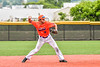 Cortland Crush Michael Breen (6) throwing the ball against the Hornell Dodgers in New York Collegiate Baseball League action at Gutchess Lumber Sports Complex in Cortland, New York on Saturday, June 19, 2021. Hornell won 8-3