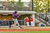 Cortland Crush Lawrence Hamilton (34) hits the ball against the Syracuse Salt Cats in New York Collegiate Baseball League action at OCC Turf Field in Syracuse, New York on Tuesday, June 22, 2021. Cortland won 6-4.
