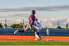 Cortland Crush Nicholas Pastore (1) beats the throw at First Base against the Syracuse Salt Cats in New York Collegiate Baseball League action at OCC Turf Field in Syracuse, New York on Tuesday, June 22, 2021. Cortland won 6-4.