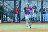 Cortland Crush Javier Rosa (3) running to Home Plate to score a run against the Syracuse Salt Cats in New York Collegiate Baseball League action at OCC Turf Field in Syracuse, New York on Tuesday, June 22, 2021. Cortland won 6-4.