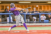 Cortland Crush Rob Ciulla (13) hits the ball against the Syracuse Salt Cats in New York Collegiate Baseball League action at OCC Turf Field in Syracuse, New York on Tuesday, June 22, 2021. Cortland won 6-4.
