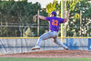 Cortland Crush Lucas Hartman (23) pitching against the Syracuse Salt Cats in New York Collegiate Baseball League action at OCC Turf Field in Syracuse, New York on Tuesday, June 22, 2021. Cortland won 6-4.