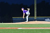 Cortland Crush Matthew Sorrells (30) pitching against the Syracuse Salt Cats in New York Collegiate Baseball League action at OCC Turf Field in Syracuse, New York on Tuesday, July 6, 2021. Game ended in a 3-3 tie.