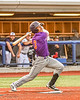 Cortland Crush Javier Rosa (3) after hitting the ball against the Syracuse Salt Cats in New York Collegiate Baseball League action at OCC Turf Field in Syracuse, New York on Tuesday, July 6, 2021. Game ended in a 3-3 tie.
