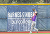 Cortland Crush Jason Boule (7) catches the ball against the Syracuse Salt Cats for an out in New York Collegiate Baseball League action at OCC Turf Field in Syracuse, New York on Tuesday, July 6, 2021. Game ended in a 3-3 tie.