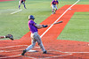 Cortland Crush Michael Breen (6) hits the ball against the Syracuse Salt Cats in New York Collegiate Baseball League action at OCC Turf Field in Syracuse, New York on Tuesday, July 6, 2021. Game ended in a 3-3 tie.