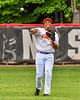 Cortland Crush Lawrence Hamilton (34) throwing the ball against the Mansfield Destroyers during the New York Collegiate Baseball League Jamboree at Wallace Field in Cortland, New York on Saturday, July 10, 2021. Cortland won 2-1.