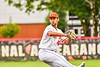 Cortland Crush Dominic Perachi (40) pitching against the Mansfield Destroyers during the New York Collegiate Baseball League Jamboree at Wallace Field in Cortland, New York on Saturday, July 10, 2021. Cortland won 2-1.