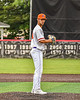 Cortland Crush Pitcher Dominic Perachi (40) on the mound against the Mansfield Destroyers during the New York Collegiate Baseball League Jamboree at Wallace Field in Cortland, New York on Saturday, July 10, 2021. Cortland won 2-1.