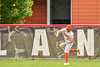 Cortland Crush Nicholas Pastore (1) throwing the ball against the Mansfield Destroyers during the New York Collegiate Baseball League Jamboree at Wallace Field in Cortland, New York on Saturday, July 10, 2021. Cortland won 2-1.