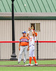 Cortland Crush Javier Rosa (3) catches a pop fly against the Mansfield Destroyers during the New York Collegiate Baseball League Jamboree at Wallace Field in Cortland, New York on Saturday, July 10, 2021. Cortland won 2-1.