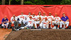 Cortland Crush Bull Pen during the New York Collegiate Baseball League Jamboree at Wallace Field in Cortland, New York on Saturday, July 10, 2021. Cortland won 2-1.