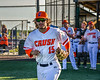 Cortland Crush Corey Stofko (15) being introduced before playing the Dansville Gliders in a New York Collegiate Baseball League Jamboree game at Gutchess Lumber Sports Complex in Cortland, New York on Saturday, July 10, 2021.