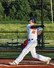 Cortland Crush Jake Andersen (22) at bat against the Dansville Gliders during the New York Collegiate Baseball League Jamboree at Gutchess Lumber Sports Complex in Cortland, New York on Saturday, July 10, 2021. Cortland won 2-0.