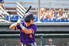 Cortland Crush Colt Harris (4) at bat against the Syracuse Salt Cats in New York Collegiate Baseball League action on Leo Pinckney Field at Falcon Park in Auburn, New York on Sunday, July 18, 2021. Cortland won 4-3.