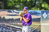 Cortland Crush Garrett Bell (10) on the mound against the Syracuse Salt Cats in New York Collegiate Baseball League action on Leo Pinckney Field at Falcon Park in Auburn, New York on Sunday, July 18, 2021. Cortland won 4-3.