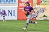 Cortland Crush Pitcher Matthew Sorrells (30) runs in from the Bullpen against the Syracuse Salt Cats in New York Collegiate Baseball League action on Leo Pinckney Field at Falcon Park in Auburn, New York on Sunday, July 18, 2021. Cortland won 4-3.