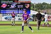 Cortland Crush Colt Harris (4) celebrates the win over the the Syracuse Salt Cats in a New York Collegiate Baseball League game on Leo Pinckney Field at Falcon Park in Auburn, New York on Sunday, July 18, 2021. Cortland won 4-3.