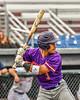 Cortland Crush Javier Rosa (3) at bat against the Syracuse Salt Cats in New York Collegiate Baseball League action on Leo Pinckney Field at Falcon Park in Auburn, New York on Sunday, July 18, 2021. Cortland won 4-3.