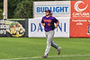 Cortland Crush Pitcher Jake Lombardi (41) jogs in from the Bullpen before pitching against the Syracuse Salt Cats in New York Collegiate Baseball League action on Leo Pinckney Field at Falcon Park in Auburn, New York on Sunday, July 18, 2021. Cortland won 4-3.