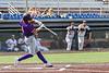 Cortland Crush Colt Harris (4) hits the ball against the Syracuse Salt Cats in New York Collegiate Baseball League action on Leo Pinckney Field at Falcon Park in Auburn, New York on Sunday, July 18, 2021. Cortland won 4-3.