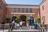 Entrance to the Natonal Baseball Hall of Fame and Museum in Cooperstown, New York on Friday, July 23, 2021.