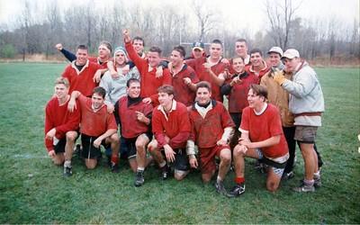 Cortland Rugby, Killer Bs , SUNY Champs, Syracuse Univ  oct 31, 1993b3