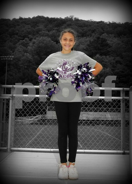 Coudy Peewee-Pony Football and Cheer 2016