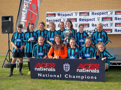 Coundon Court Girls U14's National Champions 2015