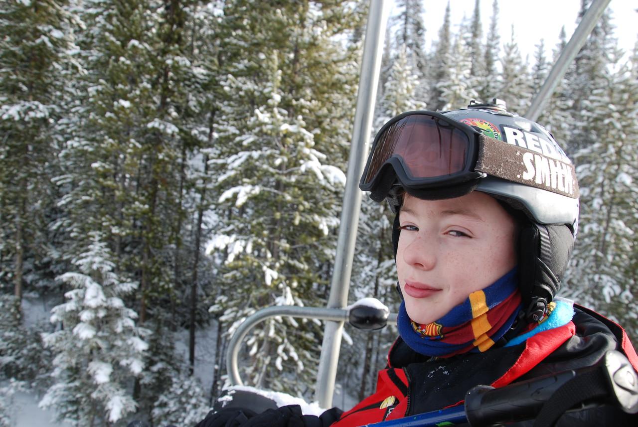 Craig at Ski Discovery. Jan 2017.