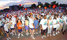 Walkers wait for the word to start during the 3k fun walk. Photo by Ned Jilton II
