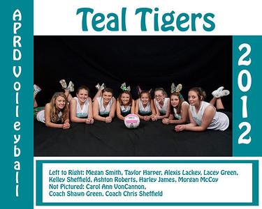 Teal Tigers