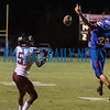 Crescent City sophomore Naykeem Scott (5) catches a pass and takes it downfield in the second half. Fran Ruchalski/Palatka Daily News