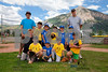 Children playing Farm League baseball in Crsted Butte, Colorado on Wednesday, July 18, 2012. (Nathan BIlow)