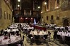 The Great Hall at Sydney University looking splendid prior to the guests entering.