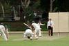 The batsman has a swing...