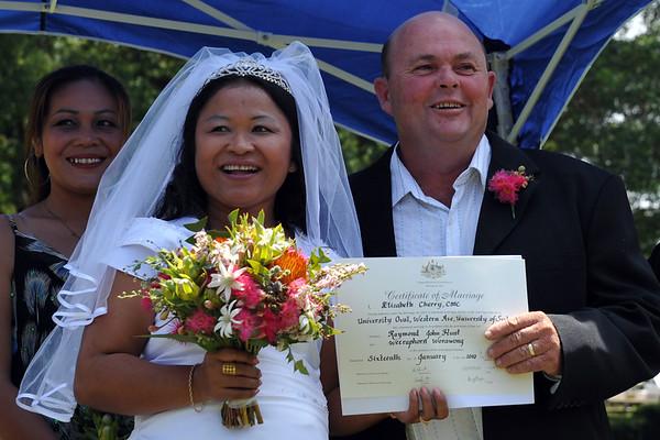 Ray's wedding