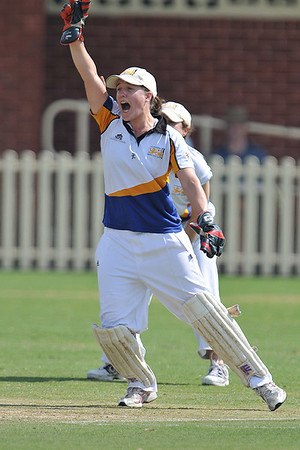 Universities 2nd grade womens cricket final  20.3.2010