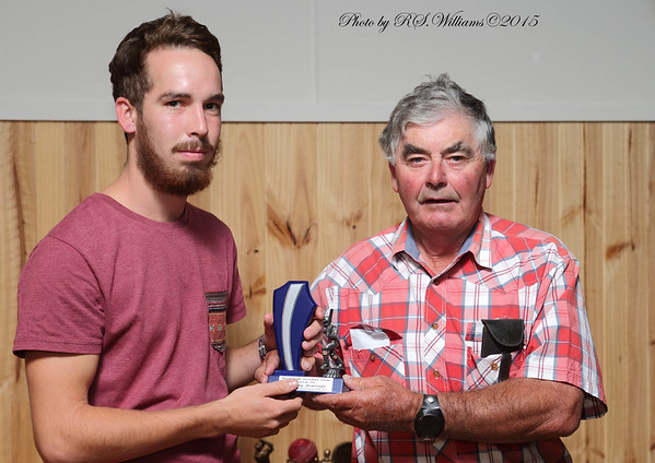 Josh Robertson best average with the bat and Ian Armour.