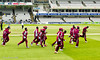 The West Indies on the run?  England won by 5 wickets