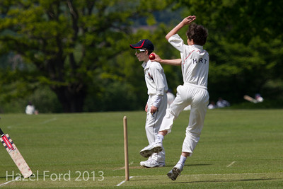 Norfolk vs Essex U10s May 2013