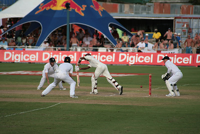 Nearly nearly nearly got the ball breaking the stumps. But didn't.