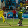 Cricket.  Pakistan vs Australia, 3rd T20, Dubai UAE. 10 Sept, 2012