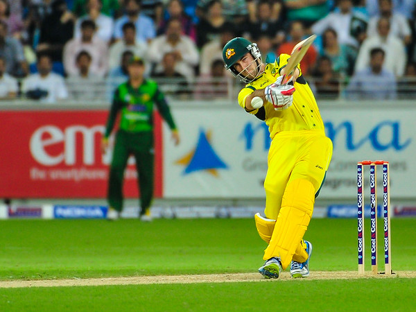 Cricket.  Pakistan vs Australia, 1st T20, Dubai UAE. 05 Sept, 2012