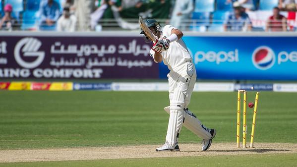 Cricket.  Pakistan vs England, 3rd Test, Dubai UAE. 03-07 Feb, 2012