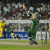 Cricket.  Pakistan vs Australia, ODI, Sharjah, UAE. 28 Aug 2012