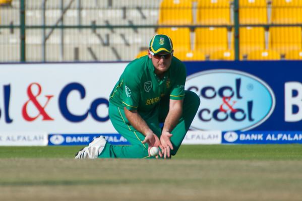 Cricket.  Pakistan vs South Africa, 1st ODI, Abu Dhabi, UAE. 29 Oct 2010