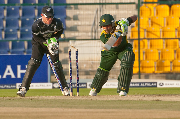 Cricket - Pakistan vs New Zealand - 1st ODI, Abu Dhabi, 3/11/09